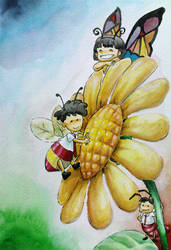 Little Buggers by Vangielyn