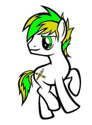 MLP FiM OC pony of yours truly  by MyNameIsCarTo0n