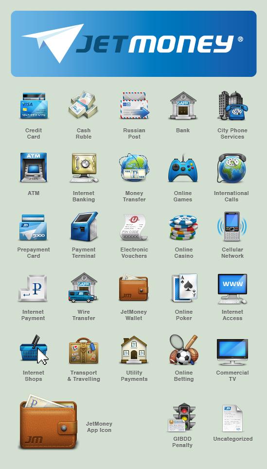 JetMoney.ru Icon Project by omercetin