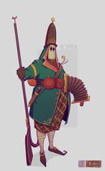 ODDfigures' Babu - Character design 'Hopper' by Steenhuisen