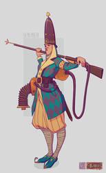 ODDfigures' Babu - Character design 'Simmer' by Steenhuisen