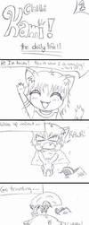 Chibi Kami Comic 1 by Kamiko14