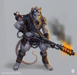 Ratkin Incinerator concept by KJKallio