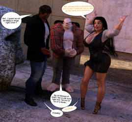 Neve Leeward - Statuesque - 00045 by DarkUrComics