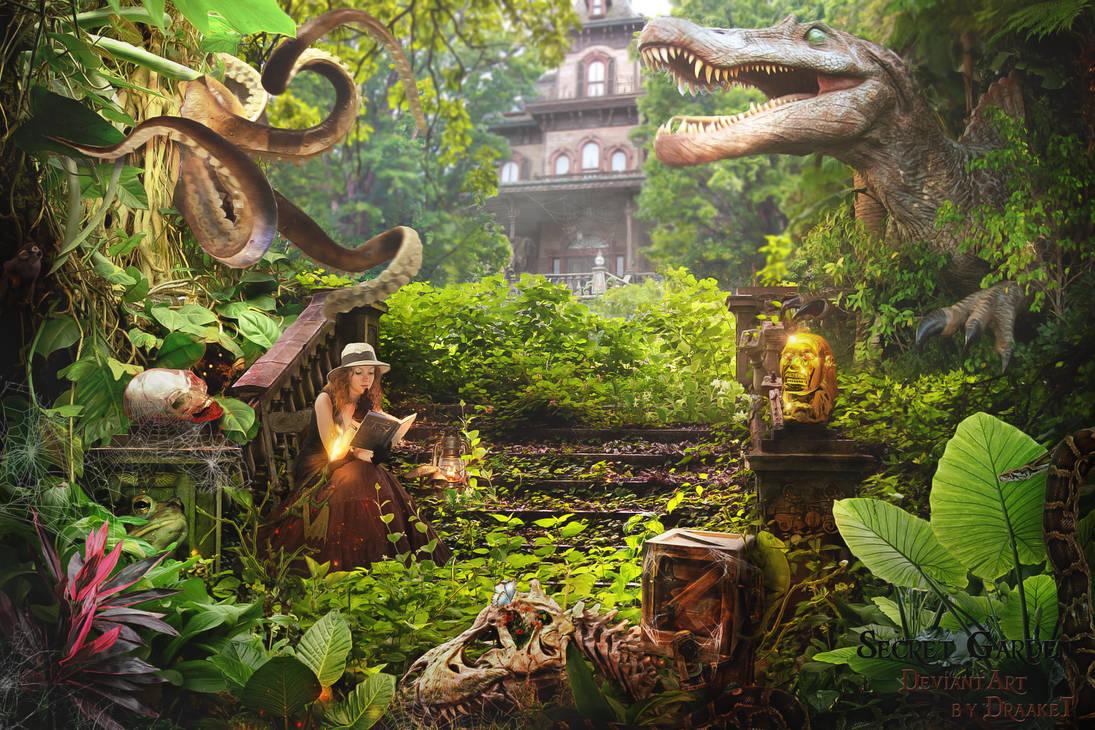 Secret Garden 1920x1280 by DraakeT by DraakeT