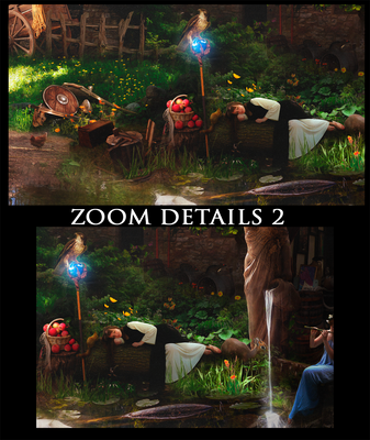 Zoom Details Andorhal 2 by DraakeT