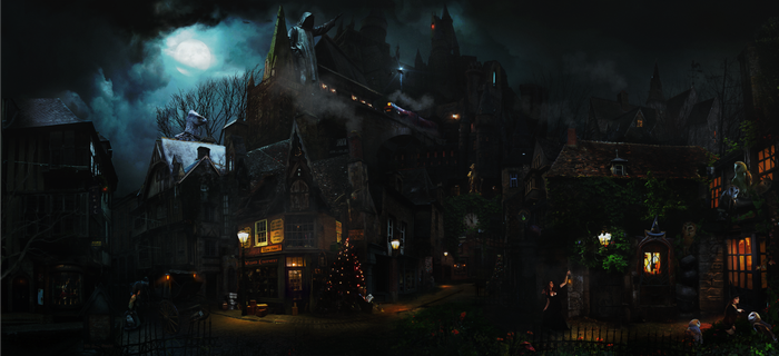 Knocturne-Diagon Alley Extended by DraakeT by DraakeT