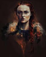 Sansa Stark by Sacrilence