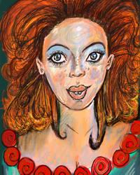 Fiery Lady by LubelleCreativeSpark