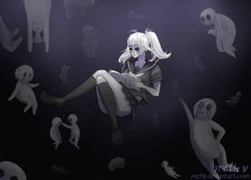 Somewhere in oblivion | Yandere simulator by mcfle