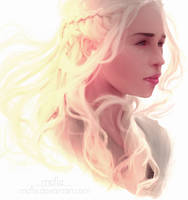Photo study #3   Mother of Dragons by mcfle