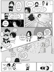 Sai vs. Sasuke by kemu