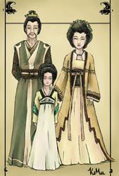 Bei Fong Family Portrait by kemu