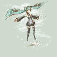 windy miku by crossover-live