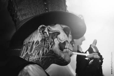 Zombie Boy by AlexKPhoto