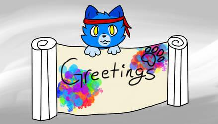 Greetings! by Cobalt-Wing