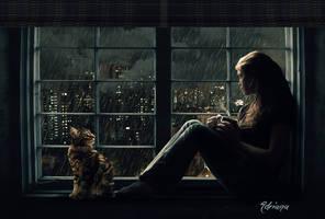 From my window (Desde mi ventana) by Adriana-Madrid