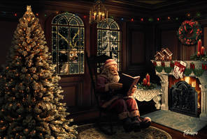 The shelter of Santa Claus by Adriana-Madrid