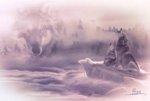 The spirit of the wolf by Adriana-Madrid