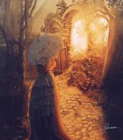 Entrada Al Jardin by Adriana-Madrid