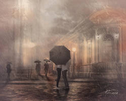 Under the rain by Adriana-Madrid
