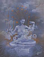 Goddess of nature by Adriana-Madrid