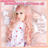 Strawberries and Cream 2G Wig by GothicLolitaWigs