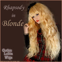 Rhapsody - Blonde by GothicLolitaWigs