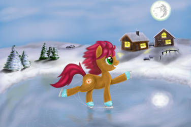 Icy Pancake by Horseez