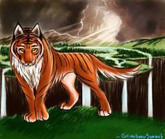 Tiger Wolf by GrlwhoKnowSummat