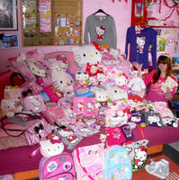 My Hello Kitty Stuff.. by Sorayachi
