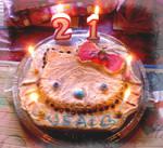 Hello Kitty Birthday Cake by Sorayachi
