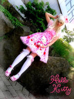 Hello Kitty Lolita Cosplay by Sorayachi
