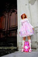 Sweet Lolita and Hello Kitty by Sorayachi