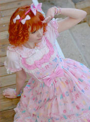 Sweet Lolita - Toy Drops JSK by Sorayachi