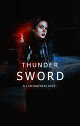 Thunder sword by burningbrightfire