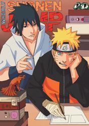 Shonen Jump Naruto Cover Contest by Ramen-shuriken
