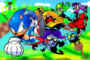 Sonic Lost World by miitoons