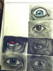 Book of eyes WIP by IXITHELEGEND