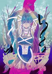 Sacred tree by meisan