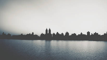 He was too romantic about Manhattan VSCO Blue Edit by atLevel1Alt