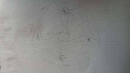 Magic Circle Practice. by Galer-X