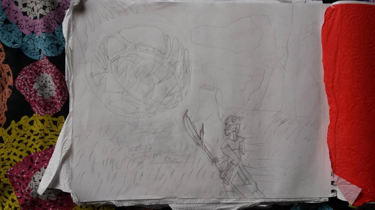 Terrarian Vs eye of Cthulu by Galer-X
