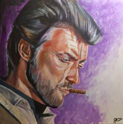 Clint Eastwood by gavcam