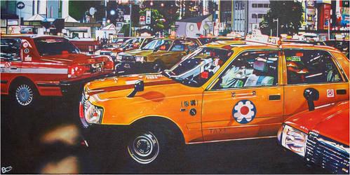 Tokyo Traffic by gavcam