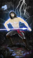 Kaladin Stormblessed by Aryellyii