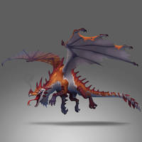 4 eyed dragon by Danlop77