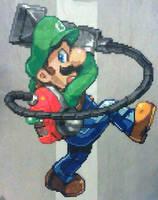 Luigi (Luigi's Mansion) by phantasm818
