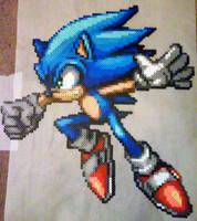 Sonic the Hedgehog by phantasm818