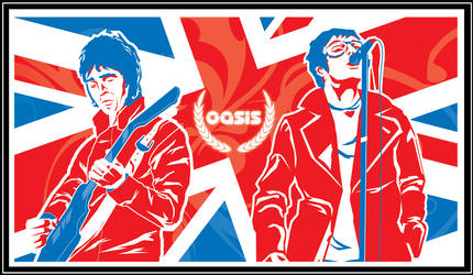 The Brothers Gallagher by feisarmatic